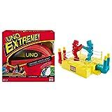 Mattel Games V9364 - UNO Extreme geeignet für 2 - 10 Spieler, Spieldauer, Gesellschaftsspiele ab 7...