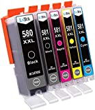 LxTek Kompatible Tintenpatronen Ersatz fr Canon 580 581 PGI-580XXL CLI-581XXL fr Canon Pixma TR8550...