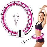 Aweohtle Fitness Hula Reifen Hoola Hup Reifen Massage Gymnastikreifen 24 Bewegliche und Einstellbar...