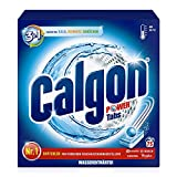 Calgon 3in1 Power Tabs – Wasserenthärter gegen Kalkablagerungen und Schmutz in der Waschmaschine...