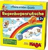 HABA 304188 - Meine ersten Spiele – Regenbogenrutsche, kooperatives Spiel ab 2 Jahren zum...