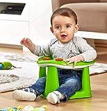 Dunya Green Baby Badesitz, Spielstuhl, 6-15 Monate, bis 13 kg BPA-frei