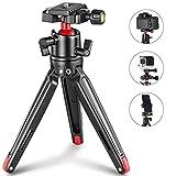 SMALLRIG Kamerastativ Mini Stativ Flexible 360° Kugelkopf mit 1/4 Schraubbefestigung für...