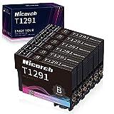 Hicorch T1291 Multipack Ersatz für Epson T1291 Tintenpatronen Schwarz Kompatibel mit Epson...