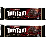 |Arnott's Tim Tam || Full Size || Made in Australia || Choose Your Flavor (2 Pack) (Dark Chocolate)|