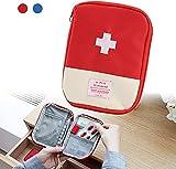 FuninCrea Reise Mini Erste-Hilfe-Tasche Medizinische Tasche tragbare Mini-Erste-Hilfe-Set...