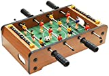 WWKA Table Top Kickertisch for Erwachsene und Kinder - Compact Mini Tabletop Fussball Spiel Kinder...