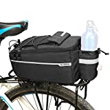 Lixada Fahrrad Gepäckträgertasche, Fahrrad Sitz Multifunktionale Isolierte...