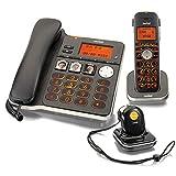 Switel D300 Vita Comfort DECT Telefon Set mit Mobilteil, Notruf-Anhänger, großen beleuchteten...