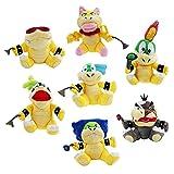 JINGJIANG Super Mario Kawaii Dinosaurier Drache Plüsch Puppe Anime Schildkröte Stofftier...