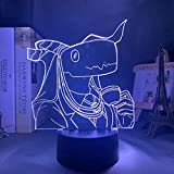 3D kreatives Nachtlicht Die alte Magus Braut Elias Ainsworth LED Nachtlicht für Schlafzimmer Dekor...