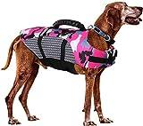 FR&RF Hundeschwimmweste, verstellbar, mit Rettungsgriff, für Schwimmen, Surfen, Bootfahren, Jagd,...