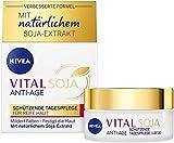 NIVEA VITAL Soja Schützende Tagespflege LSF 30 (50 ml), straffende Formel mit natürlichem...