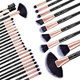 Uspicy Make Up Pinsel Set 32pcs Kosmetik Pinsel Set Lidschatten Augenbrauen Lippenpinsel...