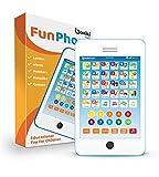 Boxiki kids Englisch Lern-Tablet, lustiges Handy mit 6 Lernspielen für Kinder, Lernspielzeug