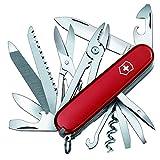 Victorinox Taschenmesser Handyman (24 Funktionen, Kombizange, Holzmeissel, Metallsäge) rot