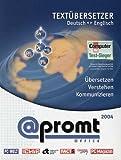 PROMT Office, Übersetzungssoftware Englisch-Deutsch, Deutsch-Englisch, 1 CD-ROMTextübersetzer....