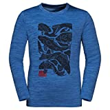 Jack Wolfskin Kinder Vargen Sweatshirt, Blau (Coastal Blue), 164