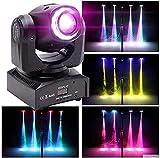Moving Head Bühnenlichter DMX-512 10/12 Kanäle 50W dj Licht LED Sound aktiviert Scheinwerfer RGBW...
