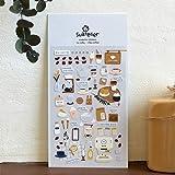 BLOUR Ich mag Kaffeedekorative Aufkleber Scrapbooking Stick Label Tagebuch Briefpapier Album...