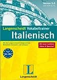 Langenscheidt Vokabeltrainer 5.0 Italienisch. Windows 7; Vista; XP; 2000: Mit der...