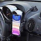Mpow Handyhalter frs Auto Handyhalterung Armaturenbrett & Windschutzscheiben 2 in 1 Universale KFZ...
