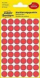AVERY Zweckform 3141 selbstklebende Markierungspunkte ( 12 mm, 270 Klebepunkte auf 5 Bogen, runde...