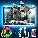 USB Led Strip 6.56ft/2M TV Hintergrundbeleuchtung Fernseher Beleuchtung Dimmbar Wasserdicht Led...