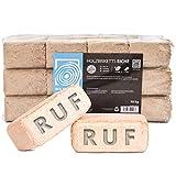Holzbriketts RUF Eiche, 60kg, Brennholz Kamin Ofen Brikett Kohle Heizen Holz