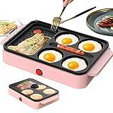 GIRISR 3-in-1-Sandwich-Toaster und Panini-Pressen Antihaft-Pan-Burger-Maschine kleine...