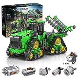MMOC Technik Traktor Technic Ferngesteuert Traktor, Winner 7119, 1706 Teile Technik Raupentraktor...