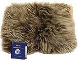 Reissner Lammfelle Engel Naturfelle Sitzauflage DIANA-30-CAP aus Lammfell hochwollig rechteckig...