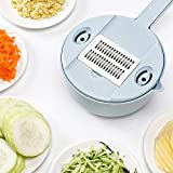 YLJYJ egetable Spiralizer Cutter und Shredder Einstellbare Mandoline Slicer Chopper Kartoffelhacker...