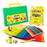 Mimtom Malschablonen für Kinder | 58-teiliges Schablonen Set mit über 370 inspirierenden Formen...
