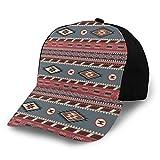 RUIP Unisex 3D-Baseballmütze Indianer, geometrischer Südwesten Fashion Snapback Caps Trucker Hats...