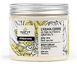 Natyr Körpercreme mit Aloe Vera, Sheabutter und Kokosöl gegen sehr trockene und rissige Haut 200...