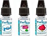 3 x 10ml Twizzy® Sweets Aroma Bundle - Eisbonbon, Kaugummi, Zuckerwatte - Aroma für Shakes,...