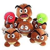 JINGJIANG Super Mario Super Mario Chestnut Aberdeen Giftpilz Plüschpuppe Anime Peripheral 5 Mario...