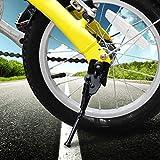 Demeras Fahrrad-Seitenständer aus Aluminium, strapazierfähig, für Fahrradständer (40,6 cm)