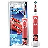 Oral-B Kids Cars Elektrische Zahnbürste für Kinder ab 3 Jahren, extra weiche Borsten, 2...