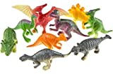 12 Dinosaurier Figuren 5-6 cm groß Dino Party Mitgebsel Give Away Tombola