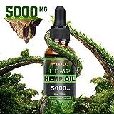 ProtoHemp Reines und hochfestes natürliches Hanföl 5000mg