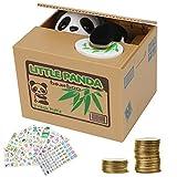 Herefun Elektronische Panda Sparbüchse, Sparbüchse für Kinder und Erwachsene, Elektronische...