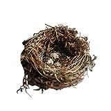 Startseite Dekoration Künstliches Nest Natürliche Vogelnest Kit Enthält Künstliche Swig...