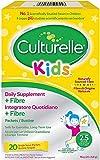 Culturelle ® Kids Probiotische Ergänzung für Kinder mit Natuerlichen Balaststoffen | 20 Sachets |...