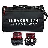 LaceHype Sneaker Bag Schuhtasche Shoebag Reisetasche fr Schuhe mit Trennwnden  hochwertige Sneaker...
