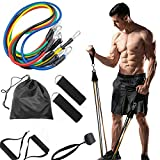 11PCS Expander Loop Training-Strap Power-Band Pull-Up-Resistance-Bands Rubber Hanging Fitness