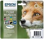 Epson Original Durabrite Ultra, Multipack T1285 Tintenpatrone. Sortierte Farben (Schwarz, Gelb,...