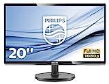 Philips 200V4QSBR/00 19,53 cm (19,5 Zoll) Monitor (VGA, DVI, MVA Panel, 1920 x 1080, ohne...