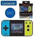 Lexibook JL2377 Compact Cyber Arcade Tragbare Spielkonsole, 250 Gaming, LCD, Batteriebetrieben,...